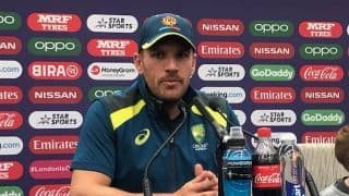 'I doubt it' – Australia's World Cup captain Aaron Finch doesn't see himself playing in the Ashes