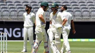 2nd Test, Perth: Australia graft to 66/0 at lunch on day one