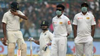 India, Sri Lanka at loggerheads on pollution menace in Delhi Test