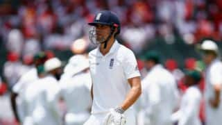 England reeling at 27/2 against South Africa at lunch on Day 2 of 3rd Test at Johannesburg