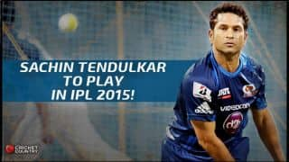 Sachin Tendulkar to play for MI against KKR