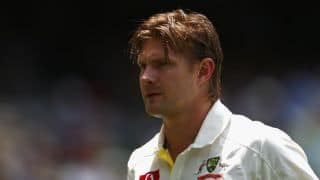 Shane Watson faces fitness test ahead of 2nd Test against South Africa