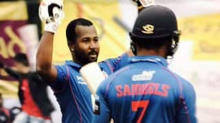 Hong Kong T20 Blitz 2017: Dwayne Smith's smashes 31-ball ton to hand Kowloon Cantons 8-wicket win against City Kaitak