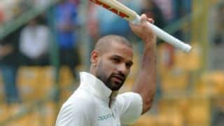 Dhawan reveals facing Rashid in nets during IPL helped