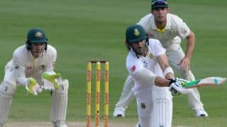 Faf du Plessis, Dean Elgar stretch South Africa's lead to 469 against Australia at lunch, Day 4,