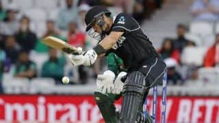Cricket World Cup 2019: Ross Taylor, Matt Henry star in New Zealand's thrilling two-wicket win over Bangladesh