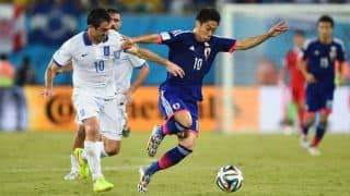 Japan, Greece play out 0-0 draw in FIFA World Cup 2014