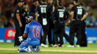 India lose No 1 spot in ICC ODI rankings