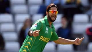 Imad Wasim fine after concussion suffered during PSL 2018