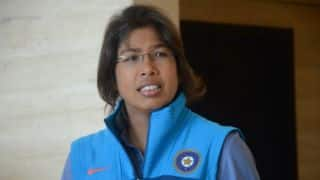 Jhulan Goswami features on Indian postal stamp