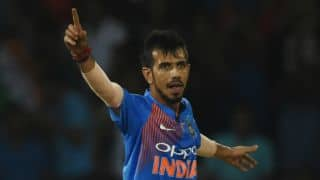 Chahal jumps to No.2 in ICC T20I bowling rankings