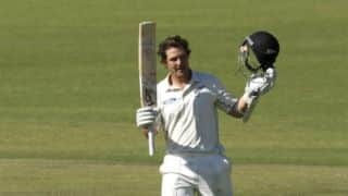 BJ Watling equals Brendon McCullum's record