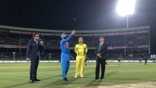 India vs Australia 2019, 1st T20I, Vizag: Indian players wear black armbands to mourn martyrs in Pulwama attack