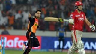 क्रिस गेल की शतकीय पारी की मदद से पंजाब ने हैदराबाद को 15 रनों से हराया