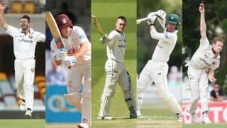 पाकिस्तान टेस्ट सीरीज के लिए ऑस्ट्रेलिया की टीम में पांच नए चेहरे
