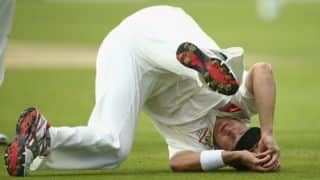 Shane Watson takes a tumbling catch in The Ashes 2015 1st Test at Cardiff: Photo