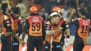 IPL 2017: Sunrisers Hyderabad (SRH) crush Royal Challengers Bangalore (RCB) by 35 runs