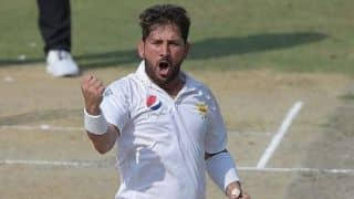 Never thought I'll end up taking 10 wickets in a day: Yasir Shah