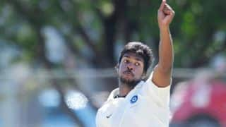 Varun Aaron feels he hasn't lost pace