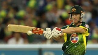 Australia vs South Africa, Zimbabwe Tri Series 2014 Match 2 at Harare: George Bailey reaches his fifty