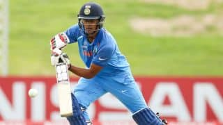 Manjot Karla slams fifty in U19 WC Final against Australia