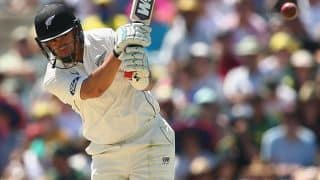 Ross Taylor hits most fours by a New Zealand batsman in a Test innings