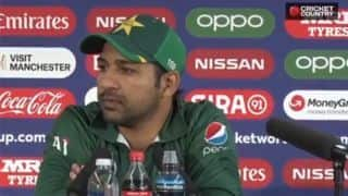We didn't capitalise on the conditions after winning toss: Sarfaraz Ahmed