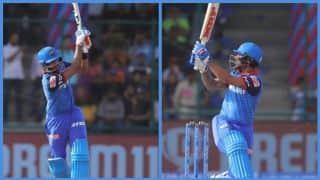 श्रेयस और धवन के अर्धशतकों से दिल्ली ने बैंगलुरू के सामने रखा 188 रन का लक्ष्य