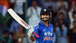 India vs New Zealand 1st ODI: Virat Kohli smacks 37th half-century
