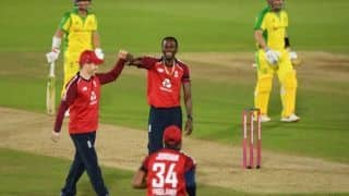 ENG vs AUS: England team fined for slow over rate in first T20I