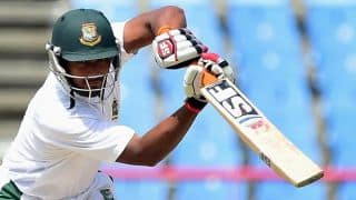 Mahmudullah gets his 12th half-century in Test cricket
