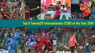 Year-ender 2016 : Top 6 Twenty20 Internationals (T20I) of the Year 2016