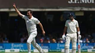 England vs Ireland Test: Ireland take lead after Tim Murtagh helps skittle England for 85 at Lord's