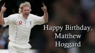 Happy Birthday, Matthew Hoggard!