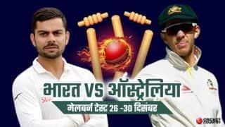 तीसरे दिन भारत 54/5; 346 रनों की विशाल बढ़त