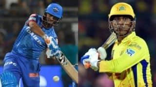 Indian T20 League, Delhi vs Chennai: It's Pant power versus Dhoni's acumen