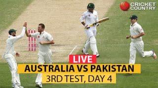 Live Cricket Score, Pakistan vs Australia, 3rd Test at Sydney, Day 4: PAK need 410 more to win on Day 5