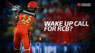 Wake up call for RCB batting before IPL 2016 final