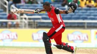 BIM 159/8, 20 overs | Live Cricket Score, Trinbago Knight Riders (TKR) vs Barbados Tridents (BIM), CPL 2016, Match 3 at Port of Spain