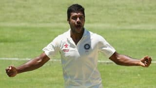 Varun Aaron's five-for gives Rest of India the advantage against Karnataka