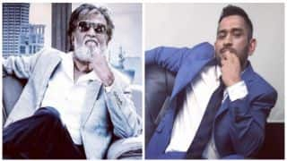 Watch: Rajinikanth claims MS Dhoni is his favourite cricketer