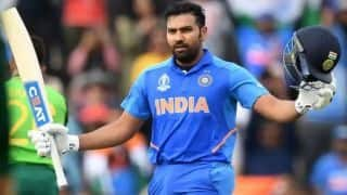 CWC 2019: I couldn't play my natural game, says Rohit Sharma