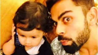 Video: Watch Virat Kohli's adorable reunion with MS Dhoni's daughter Ziva in Ranchi