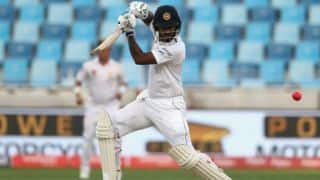 Sri Lanka tour of West Indies: Dimuth Karunaratne doubtful after fractured finger