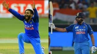 Asia Cup 2018 Super Four: Ravindra Jadeja, Rohit Sharma star in facile win