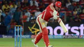 Kings XI Punjab score 100 against Rajasthan Royals in Match 18 of IPL 2015
