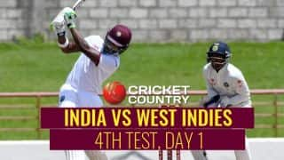 WI 62/2, Overs 22 | India vs West Indies 4th Test, Day 1 Live Updates: Play called off
