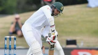 India A vs Bangladesh warm-up match: Soumya Sarkar's fifty guides Bangladesh to 92 for 4 at lunch on Day 1