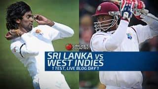 SL 317/2   Live Cricket Score Sri Lanka vs West Indies 2015, 1st Test at Galle, Day 2