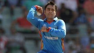 राशिद खान की फिरकी ने बांग्लादेशी बल्लेबाजों को किया पस्त
